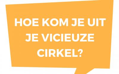 Zit jij ook in een vicieuze cirkel?